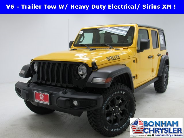 New 2020 Jeep Wrangler Unlimited Willys Sport Utility In Bonham 200647 Bonham Chrysler Dodge Jeep Ram