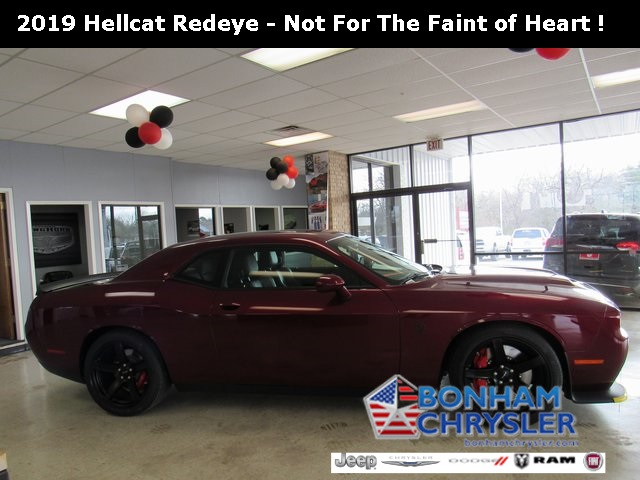 New 2019 DODGE Challenger SRT Hellcat Red Eye