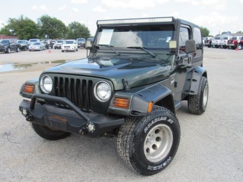 Pre-Owned 1998 Jeep Wrangler Sport