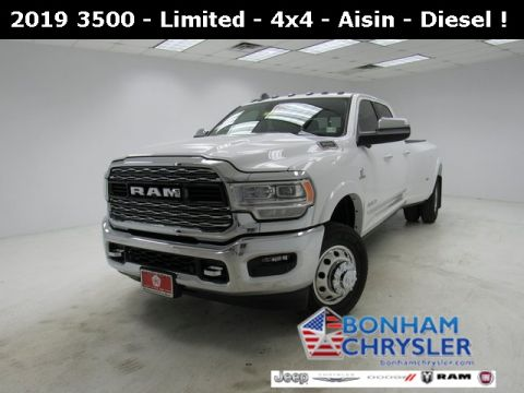 New 2019 RAM 3500 Limited